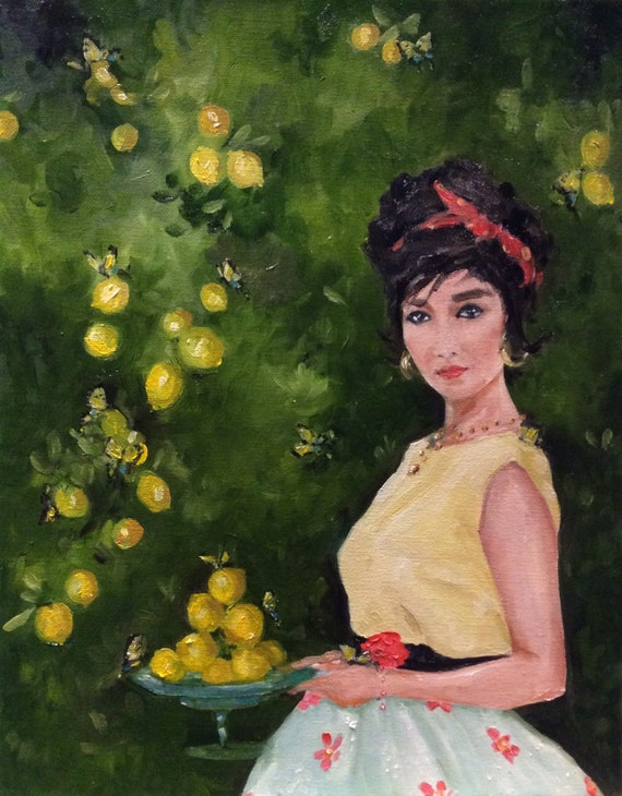 The Lemon Tree - Fine Art Print