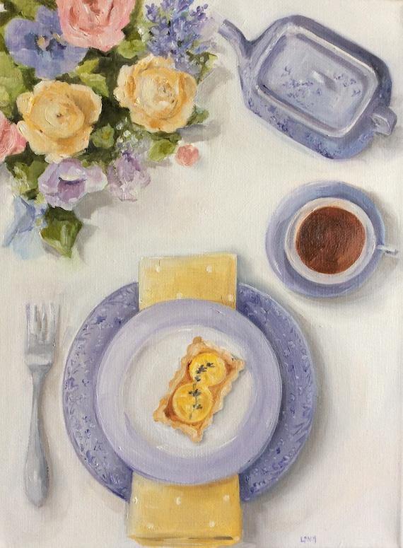 Lemon Squares - Fine Art Print