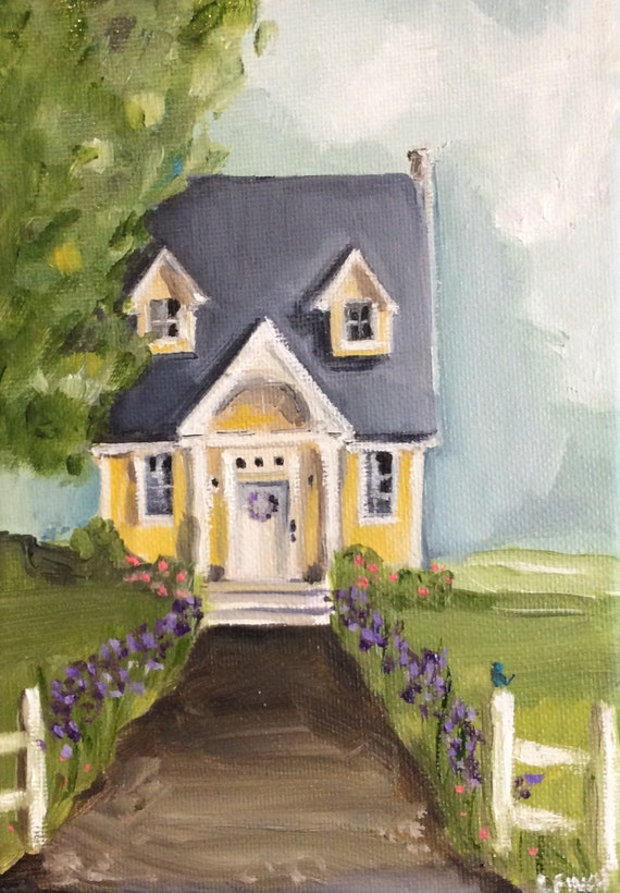 The Buttercup House - Fine Art Print