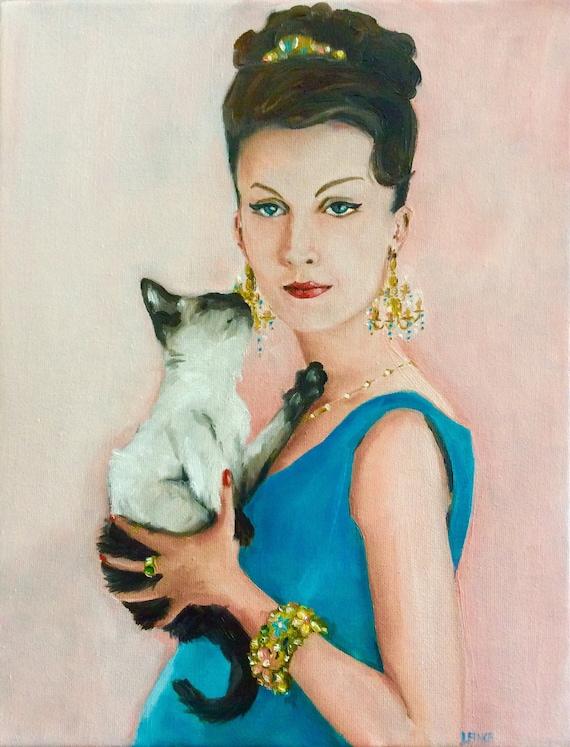 Chandelier Earrings - Fine Art Print
