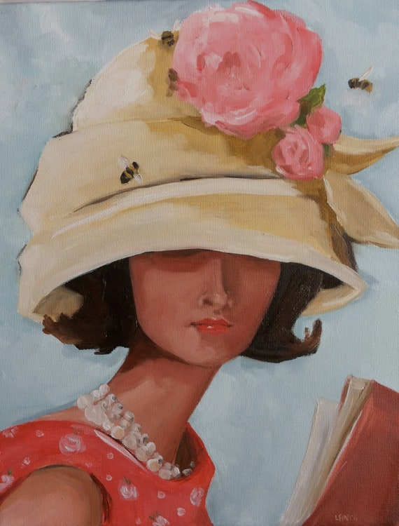 The Beehive Hat - Large Fine Art Print