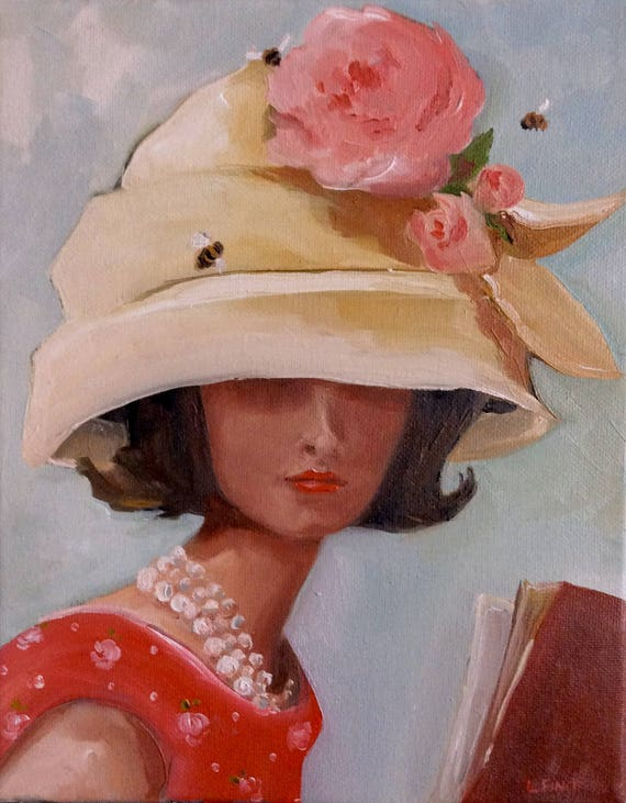 The Beehive Hat - Fine Art Print