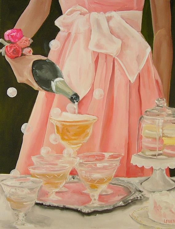 A Drink in Pink - Fine Art Prin