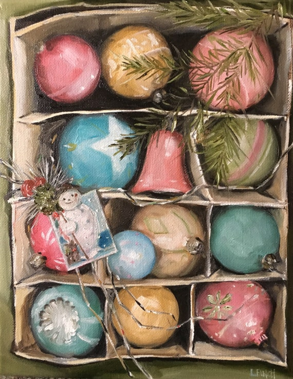 Little Bits of Christmas - Fine Art Print