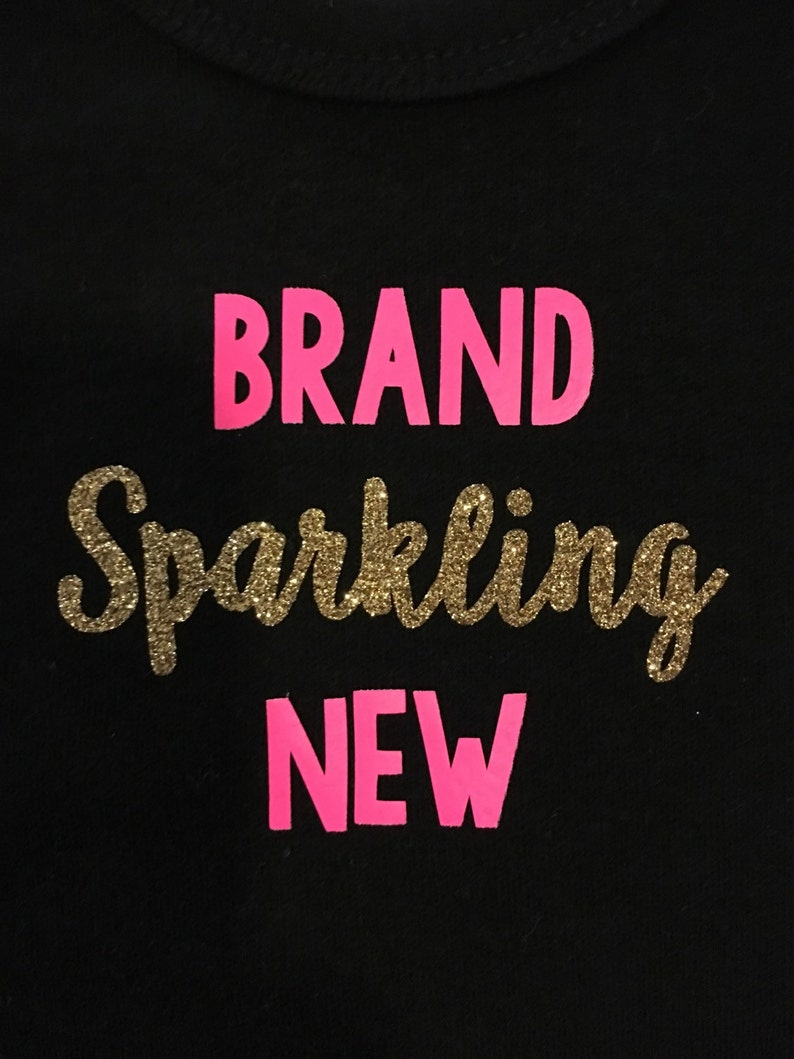 Brand Sparkling New Onesie personalized gift