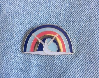 Rainbow Girl Pin