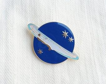 Saturn Girl Pin