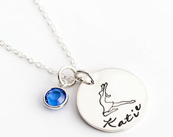 Lyrical Dance, Dance Necklace, Dancer Necklace, Dance Jewelry, Dancer Gift, Dance Recital Gift, Gift for Dancer, Personalized Jewelry