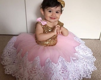7015dbec89cf Sequin baby dress