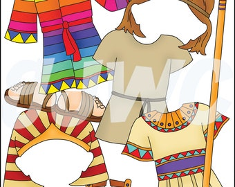 JOSEPH Add On - To Armor of God Boy - Children's File Folder Game - Downloadable PDF Only