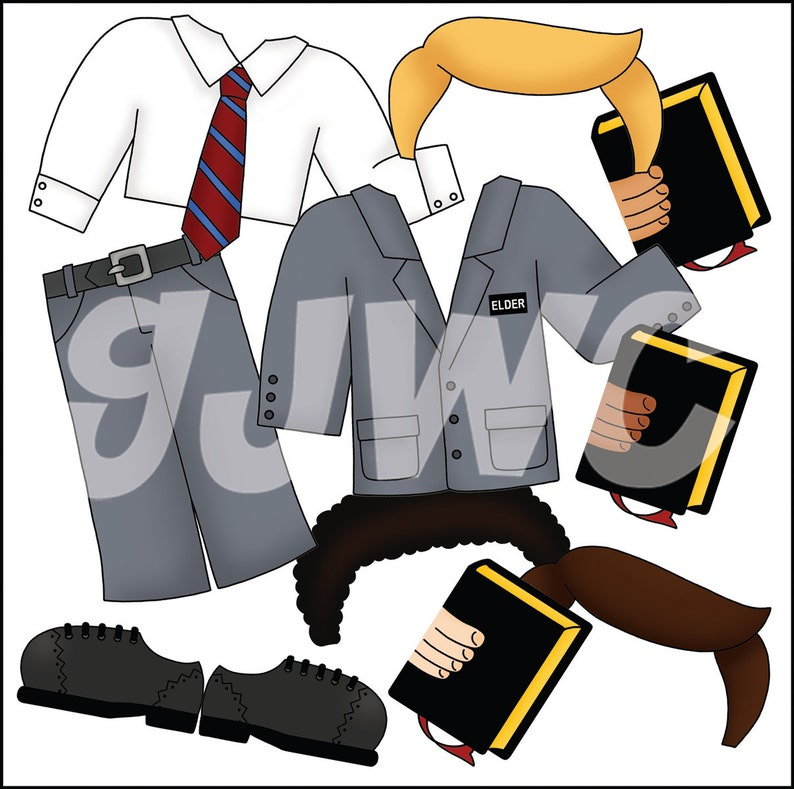 MISSIONARY Add On  To Armor of God Boy  Children's File image 0