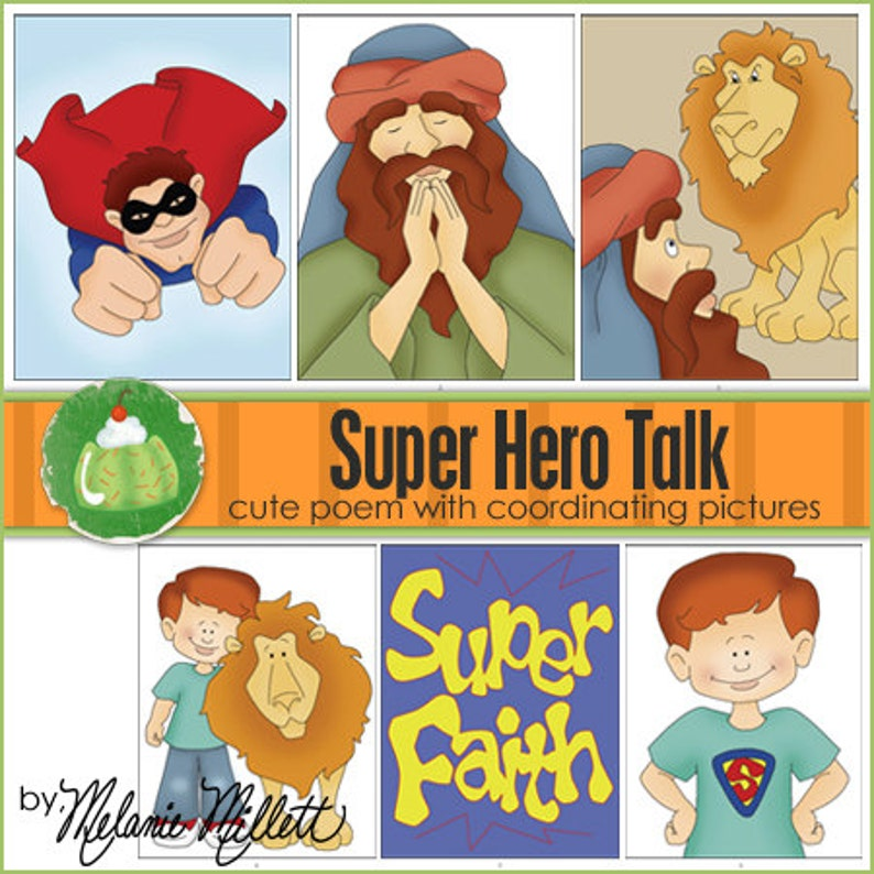 SUPER HERO Primary Talk  Downloadable File image 0
