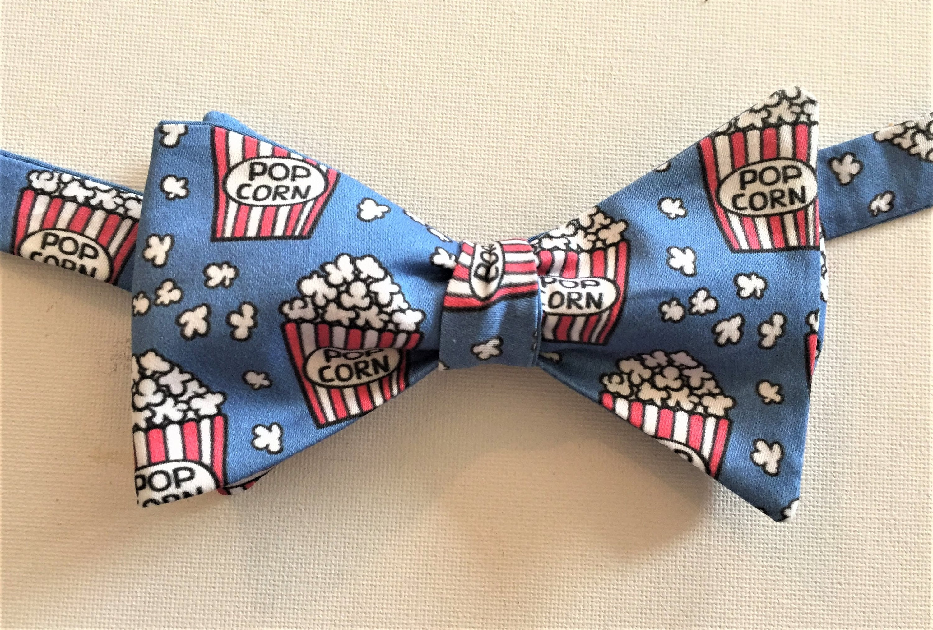 609d473b9151 Lets go to the Movies Bow Tie Self Tie Pre-Tied Pocket | Etsy