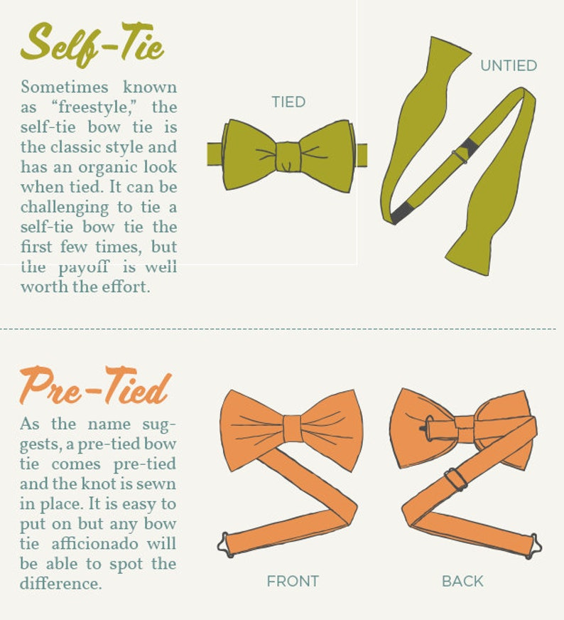 84c4682a77e5 Lets go to the Movies Bow Tie Self Tie Pre-Tied Pocket | Etsy