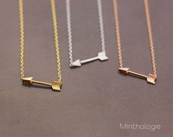 Arrow Necklace RN105 • Dainty Necklace, Small Arrow Necklace, Small Arrow Charm, Small Arrow, Dainty Arrow, Simple Necklace, Gift For Her