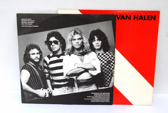 acc6daef4c9 Vintage 1982 Van Halen Diver Down LP Vinyl Record w  Sleeve