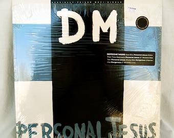 Vintage Vinyl 1989 Depeche Mode Personal Jesus Dangerous 12 inch Maxi Single Record Album 5 Tracks 80s Band
