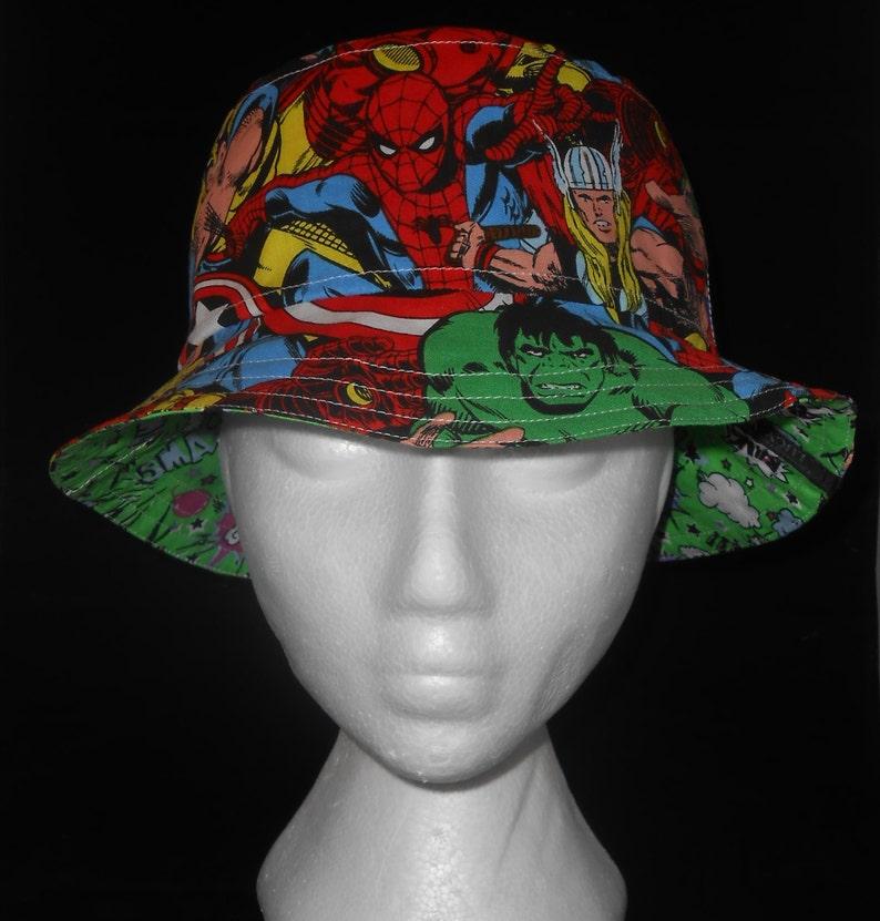 Adult s Sun Hat Reversible Bucket Hat Mens Beach Hat  a57acb60e1fa