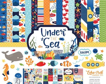 Echo Park Under the Sea Collection Kit