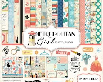 Carta Bella Metropolitan Girl Collection Kit