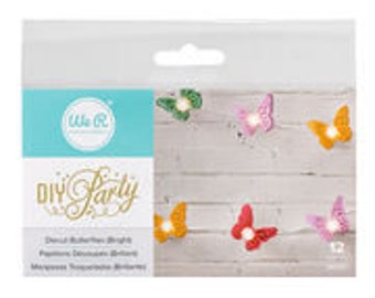 We R Memory Keepers Diecut Butterflies