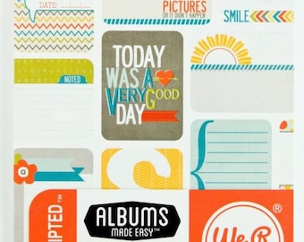 We R Memory Keepers Journaling Cards - Unscripted