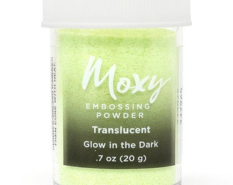 Moxy Embossing Powder - Glow in the Dark
