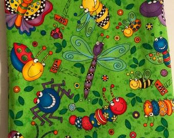 L Receiving Blanket- Bugs