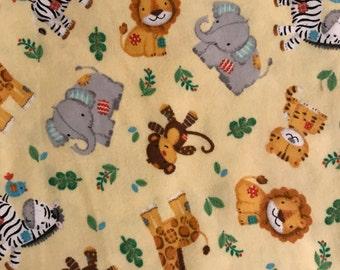 XL Receiving Blanket-Jungle Animals