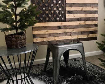 Small Rustic Wooden Flag