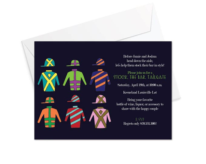 Silks Horse Racing Invitation