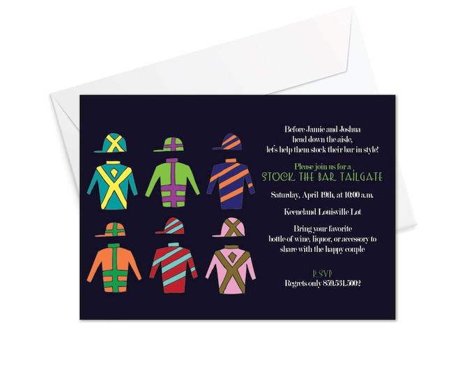 Silks Horse Racing Invitation
