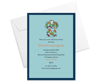Hawaiian Shirt Invitation