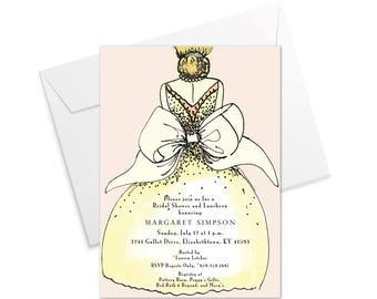 Bride's Bow Invitation