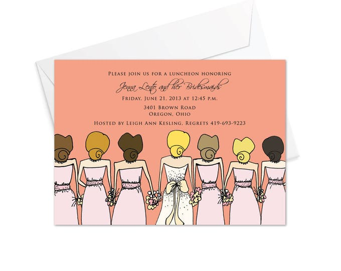 Bridesmaids Invitation