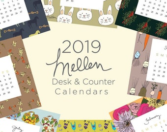 2019 Mellen Desk and Counter Calendar