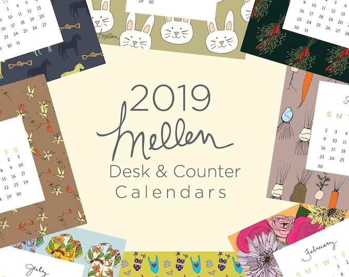 2019 Mellen Desk and Counter Calendar