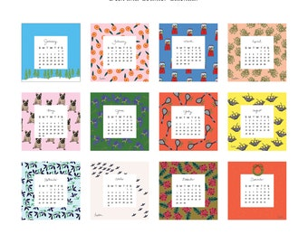 2021 Mellen Desk and Counter Calendar