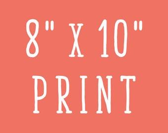8x10 Print of Mellen Artwork