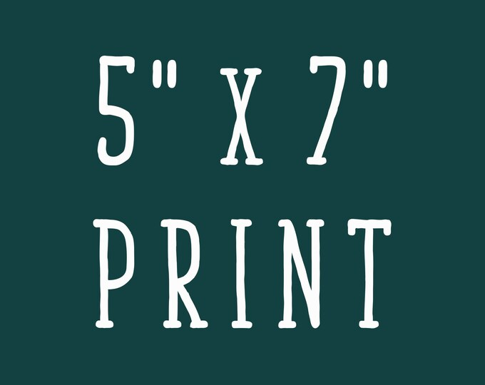5x7 Print of Mellen Artwork