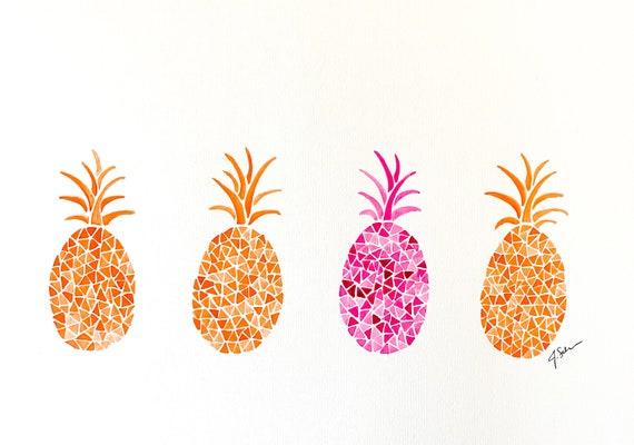 Orange Pineapple Series