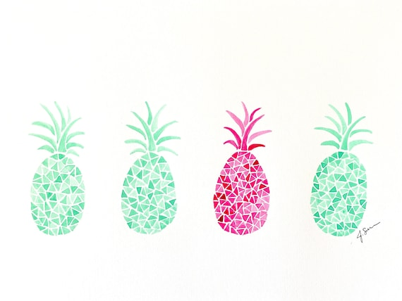 Seafoam Pineapple Series