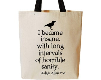 handmade ready to ship cards pouch Edgar Alan Poe fabric  coins purse crafts
