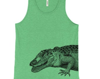 798a42ca23009 Crocodile Tank Top