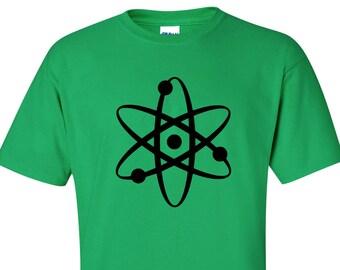 CLEARANCE, Geek T Shirt, Science Tshirt, Atom Tshirt, Funny Science Shirt, , Geeky Tshirt, Geek Tee, sm-5xl plus size