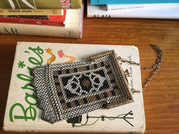 1920s Mandalian mesh purse • Antique 20s art deco