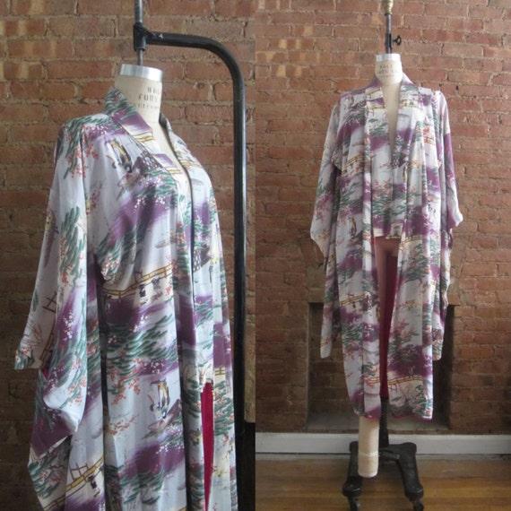 1930s furisode kimono