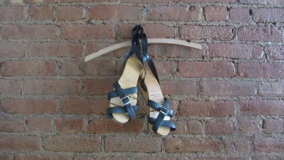 1950s MCM Flexiclog sandals | 50's Mid Century Nov