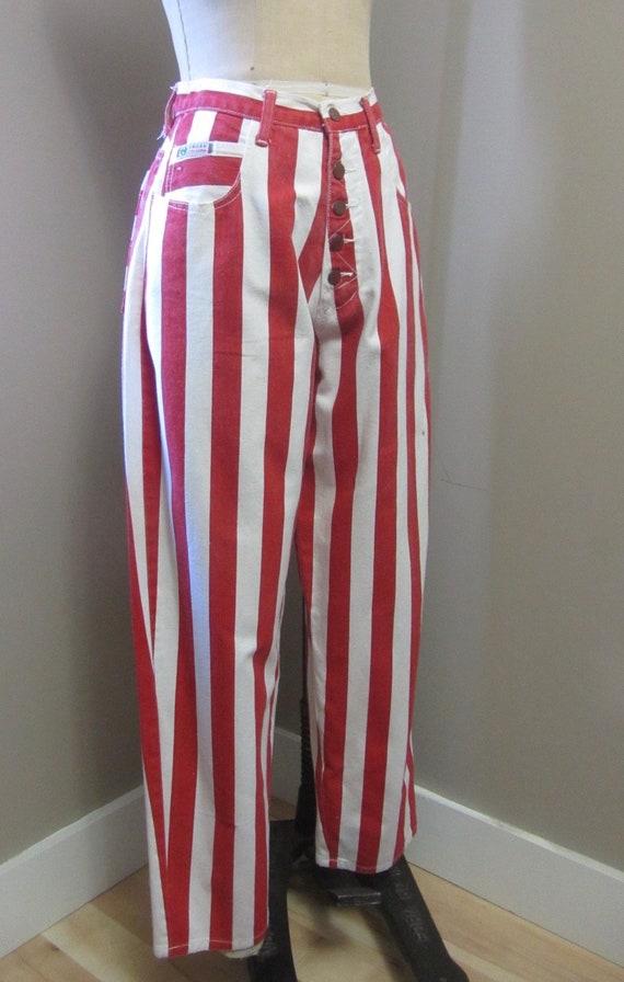 vintage Cross Colours striped jeans | 90s rare vi… - image 3