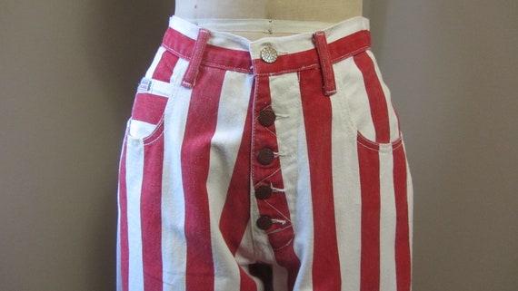 vintage Cross Colours striped jeans | 90s rare vi… - image 5